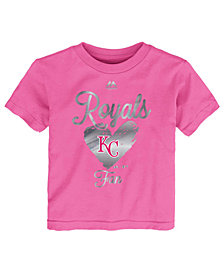 Majestic Kansas City Royals Autograph T-Shirt, Toddler Girls (2T-4T)