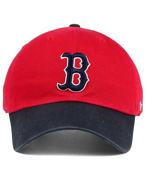 quality design 9124d 65bb9 ... clearance 47 brand boston red sox cooperstown clean up cap sports fan  shop by lids men