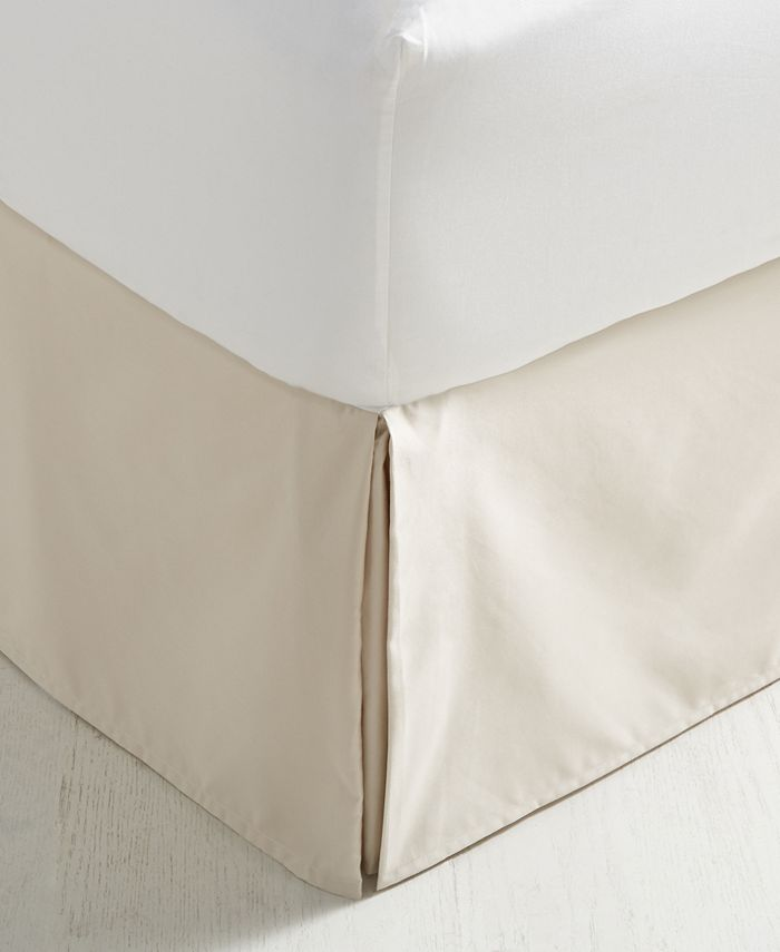 Charter Club - Damask Supima Cotton 550-Thread Count Twin Bedskirt