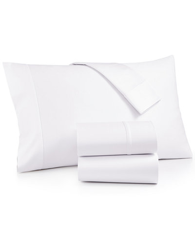 AQ Textiles Bergen 4-Pc. Full Sheet Set, 1000 Thread Count 100% Certified Egyptian Cotton