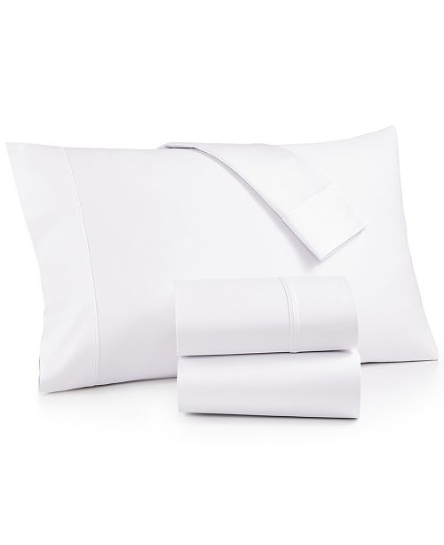 AQ Textiles Bergen 4-Pc. California King Sheet Set,  1000 Thread Count 100% Certified Egyptian Cotton