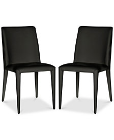 Erin Set of 2 Dining Chairs, Quick Ship