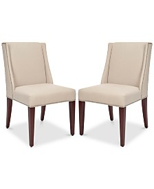 Danen Set of 2 Armchairs, Quick Ship