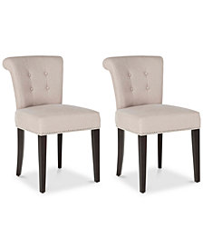 Tarran Set of 2 Ring Dining Chairs, Quick Ship