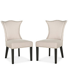 Lagoni Set of 2 Dining Chairs, Quick Ship