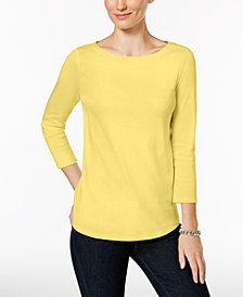 Yellow Women S Petite Tops Macy S