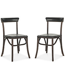 Leaton Set of 2 Dining Chairs, Quick Ship
