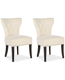 Brydan Set of 2 Side Chairs, Quick Ship