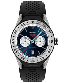 TAG Heuer Modular Connected 2.0 Men's Swiss Black Rubber Strap Smart Watch 45mm SBF8A8014.11FT6076