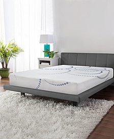 "SensorGel 8"" Firm Gel-Infused Memory Foam Mattress, Quick Ship, Mattress In A Box- Queen"
