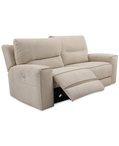 Electric reclining sofas dylan reclining sofa black s for 90 inch couch