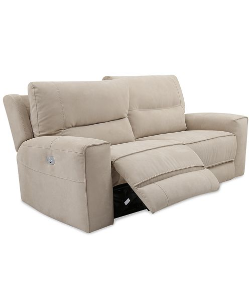 Furniture Closeout Genella 83 Power Reclining Sofa With Power