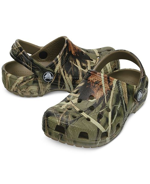 357a622898d32 Crocs Classic Realtree Clogs, Baby Boys, Toddler Boys & Little Boys ...