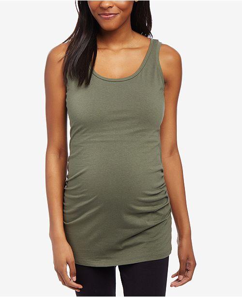 Motherhood Maternity Ruched Tank Top
