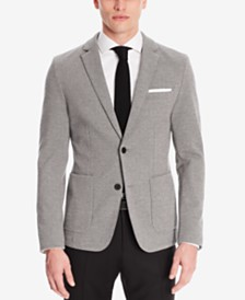 BOSS Men's Extra Slim-Fit Piqué Jersey Sport Coat