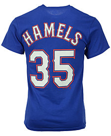 Majestic Men's Cole Hamels Texas Rangers Official Player T-Shirt