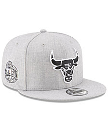 New Era Boys' Chicago Bulls The Heather 9FIFTY Snapback Cap