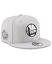 New Era Boys' Golden State Warriors The Heather 9FIFTY Snapback Cap