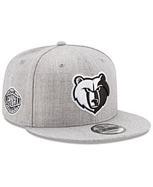 New Era Boys' Memphis Grizzlies The Heather 9FIFTY Snapback Cap