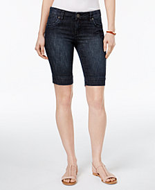 Kut From The Kloth Petite Natalie Denim Shorts
