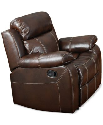 belnor recliner quick ship - Mission Style Recliner