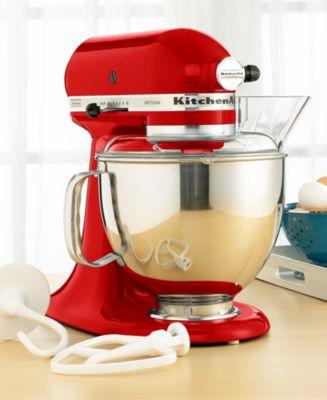 kitchenaid ksm150ps artisan 5 qt  stand mixer kitchenaid ksm150ps artisan 5 qt  stand mixer   electrics      rh   macys com