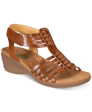 Bare Traps Hinder Wedge Sandals Women