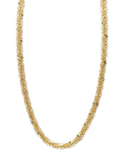 14k Gold Necklace, 16