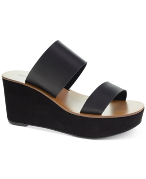 Chinese Laundry Orchid Two-Piece Wedge Sandals Women