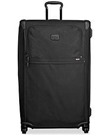 Tumi Alpha Ballistic Travel Worldwide Trip Expandable Spinner Suitcase