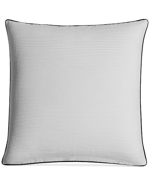 "Hotel Collection Greek Key 20"" Square Decorative Pillow, Created for Macy's"
