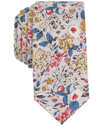 Bar Iii Men S Isabella Fl Skinny Tie Created For Macy