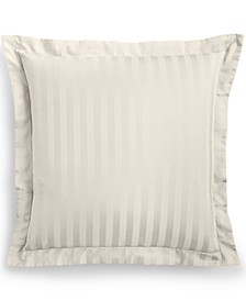 Ivory Stripe European Sham, 100% Supima Cotton 550 Thread Count , Created for Macy's