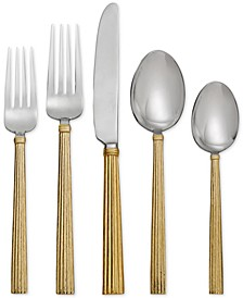 Wheat Gold Collection 5-Piece Place Setting