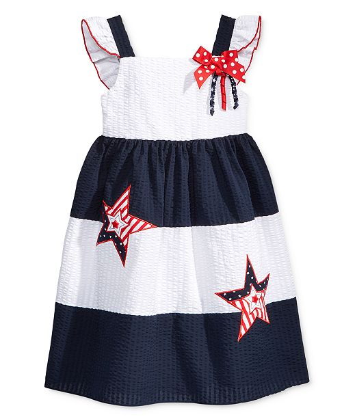 Good Lad Toddler Girls Starry Americana Sundress