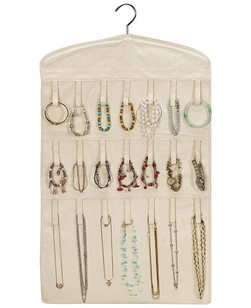 Household Essentials Hanging Jewelry Organizer