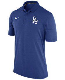 Nike Men's Los Angeles Dodgers Dri-Fit Polo 1.7