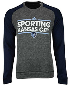 adidas Men's Sporting Kansas City Dassler Local Crew Sweatshirt