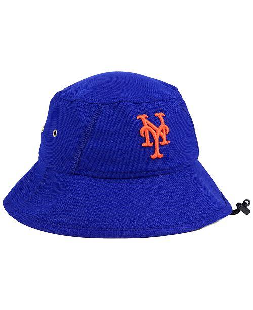 New Era New York Mets Clubhouse Bucket Hat - Sports Fan Shop By Lids ... 035894c9bb2