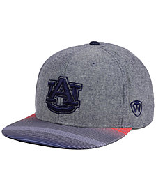 Top of the World Auburn Tigers Tarnesh Snapback Cap