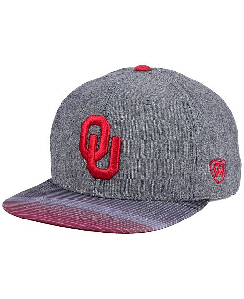 timeless design 9d684 35187 Top of the World. Oklahoma Sooners Tarnesh Snapback Cap. Be the first to  Write a Review. main image ...