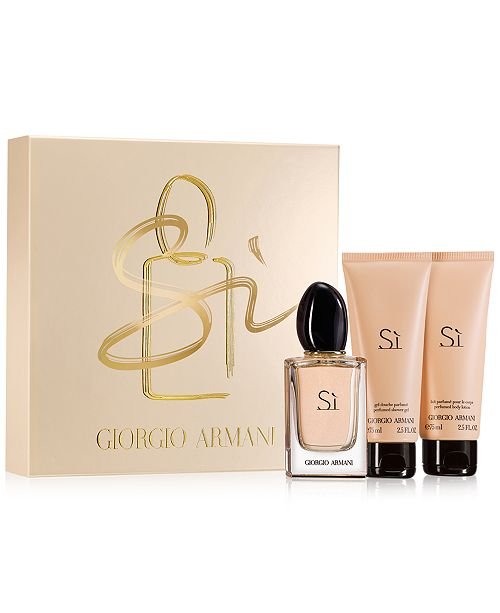 f42437f260 Giorgio Armani 3-Pc. Si Gift Set   Reviews - All Perfume - Beauty ...
