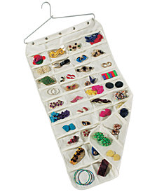 Household Essentials 80-Pocket Hanging Jewelry Organizer