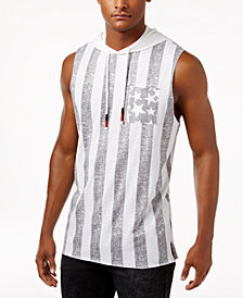 American Rag Men's Stars & Stripes Hooded Flag Tank, Created for Macy's