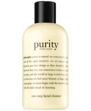 'Purity Made Simple' One-Step Facial Cleanser