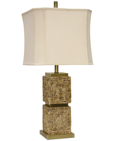 Stylecraft mayan table lamp lighting lamps for the home macys stylecraft mayan table lamp aloadofball Images