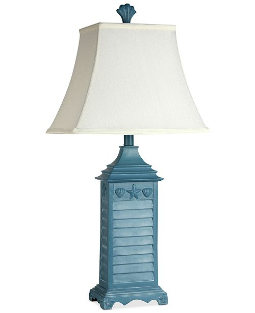 stylecraft beach house table lamp lighting lamps home macy s
