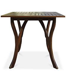 Darra Square Accent Table, Quick Ship