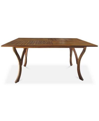 Darra Rectangle Dining Table, Quick Ship