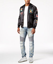 Reason Flying Tigers Jacket & Ripped Denim Jeans
